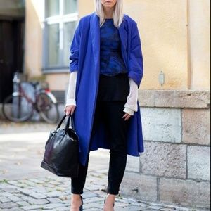 Cobalt Duster Trench Coat - Duster